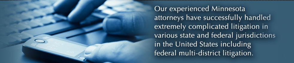 Experienced Minnesota lawyers.